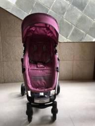 Usado, Carrinho de Bebê Lenox Kiddo Eclipse Rosa!!! comprar usado  Belford Roxo