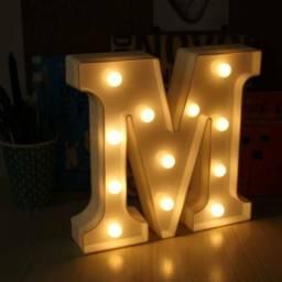 Letras MDF Iluminadas