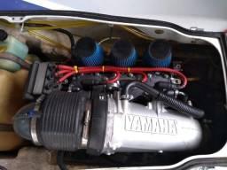 Motor e elétrica jet ski Yamaha wave rider 1100cc - 1997