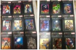 Coleção Marvel Salvat Capa preta faltando 3 números
