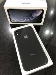 IPhone XR 128GB preto garantia 07/2020
