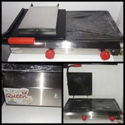 Prensa Dupla Inox p/ lanches New Queen Style ProGás