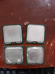 Processadores intel core 2 duo, pentium celeron