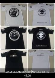 Vendo Camisetas Black Skull Originais