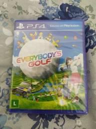 Jogo Everybody's Golf PS4 Lacrado Novo