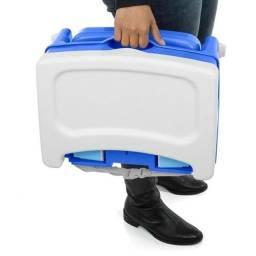 Cadeira de alimentação portátil, NOVA lacrada na caixa, (cadeira de refeição)