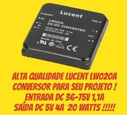 Conversor CC-CC 5 V/4a (20w) - Lote 10 Unid - Fonte powerpack on board para PCI