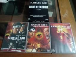 BOX 3 DVDs Karate kid 3 filmes