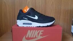 Nike Airmax 90 Black White (PROMOÇÃO)