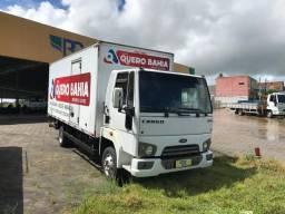 Cargo 816 2014 Completo Ar Condicionado Bau 06 metros de cliente sem trocas