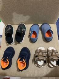 Vendo sapatos de menino