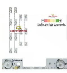 Barra De Led 32l2400 Dl3244 Dl3253i Nova em aluminio !
