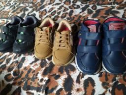 3 calçados por 90,00 (2semi novo)