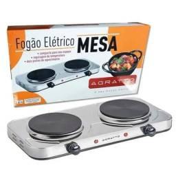 Fogão Agratto Cooktop elétrico 2 Bocas 127 Volts