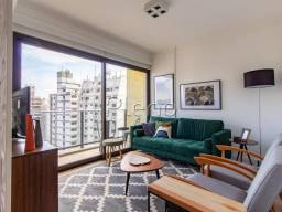 Apartamento à venda com 1 dormitórios em Cambuí, Campinas cod:AP025836