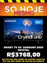 "Smart TV 65"" Samsung 4K Entrega Grátis Magalu Copacabana"