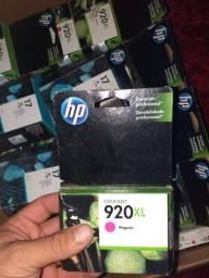 Baixei o valor, lote de cartuchos HP 920xl e HP17, Apenas $ 25 reais unidade