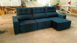 Sofa 3 metros - retratil e reclinavel