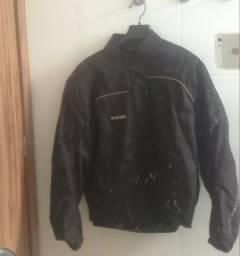 Jaqueta de motoqueiro + colete