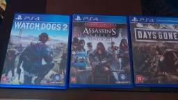 Jogos para PS4 (Leia a descrição)