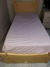 Cama de solteiro + colchão solteiro