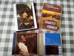 CDs e DVDs Legião Urbana e Cazuza