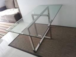 Base de mesa em aço inox por apenas 930,00