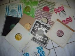 Lote com 8 discos alternativos para dj