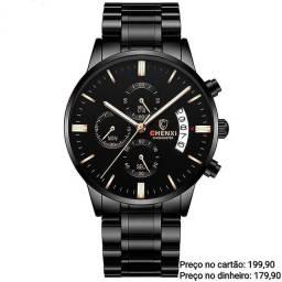 Relógio masculino importado original Chenxi cronógrafo topíssimo