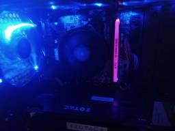 Pc gamer ryzen 3 . 2200 G - gHz 3.70 com placa de vídeo GTX 960