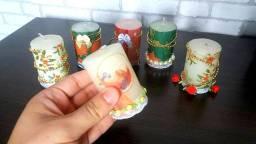 6 velas de Natal - Ultimas unidades 10 reais cada