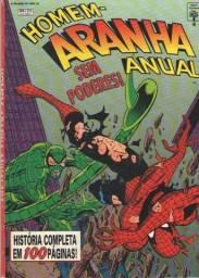 Revista em Quadrinhos Homem-Aranha Anual Ed. 04 - 1994 - 100 pg - Abril-Marvel