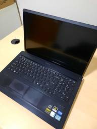 Notebook i7/8Gb/SSD/NvidiaGeForce/Fullhd
