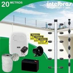 Kit de cerca elétrica já instalada *