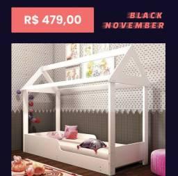 Mini cama montessoriana a pronta entrega de ótima qualidade