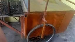 Um carrinho de churasco ótimo pra vc começa seu negócio