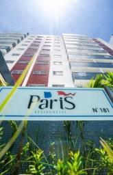Paris Residencial-2 Quartos com Suíte e varanda-Prédio Novo