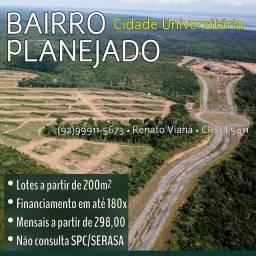 Construa sua casa a 10min. da Ponte Rio Negro