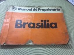 Manual proprietário Brasília