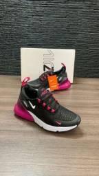 Nike 270 Black Pink do 35 ao 39 novo zerado aceito cartão entrego