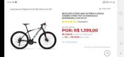Bicicleta gtsm1 nova lacrada