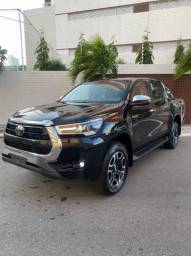 Título do anúncio: Toyota Hilux srx Aut diesel 0km preta 2021