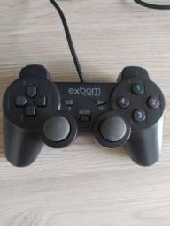 Título do anúncio: Controle de PS2 para Pc - USB (Usado)