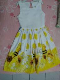 Vestido Gabriela Aquarela