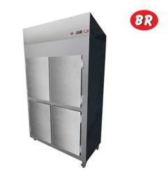 Geladeira Comercial Refrigerador 4 Portas 220V