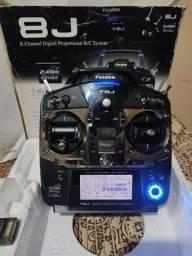 Vendo Rádio Futaba + Aero Trainer + 2 Receptor