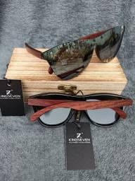 Óculos Kingseven (Polarizado) Prata Espelhado