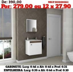 Título do anúncio: Conjunto de Banheiro com cuba e espelho -Balcão de Pia- Em Ponta Grossa