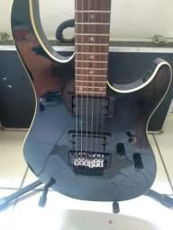 Guitarra Tagima Vulcan e mais cubo para guitarra warm music