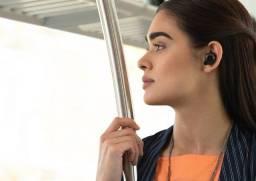 Fone de ouvido sem fio, com estojo + carregador e com bluetooth
